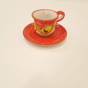 Tazzina da caffè con piattino 007
