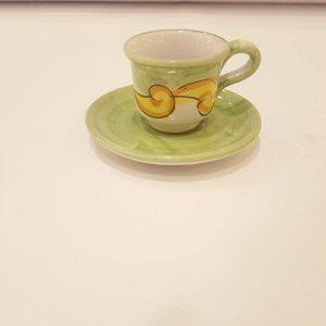 Tazzina da caffè con piattino 006