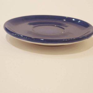 Piattino blu stampo