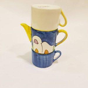 Teiera con tue tazze 001
