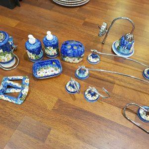 Arredo bagno ceramica e acciaio – Le Fantasie di Vietri