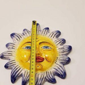 Sole cm 20 blu e giallo