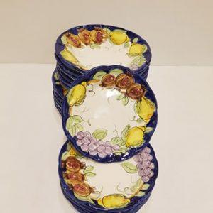 Servizio di piatti da 6 frutta mista