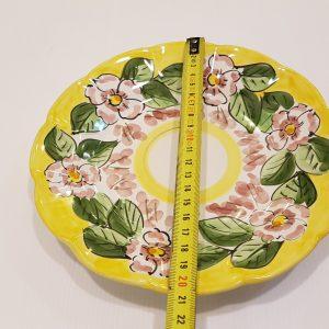 Piatto frutta fiori 001