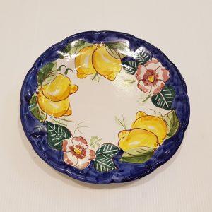 Piatto frutta fiori e limoni 001