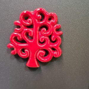 Albero della vita rosso
