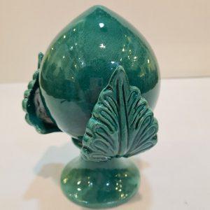 Pumo 18cm verde smeraldo